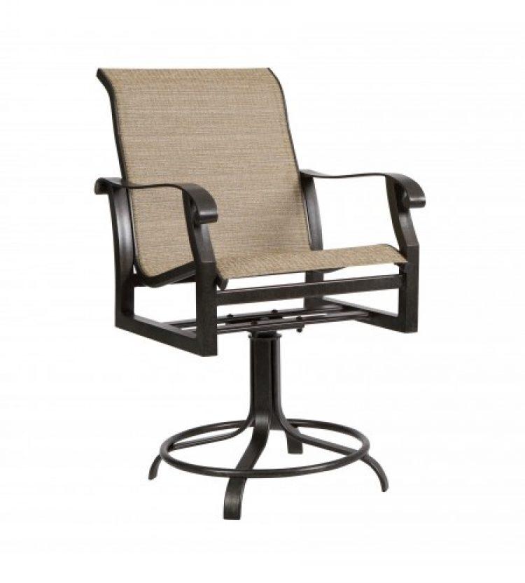 cortland sling swivel counter stool
