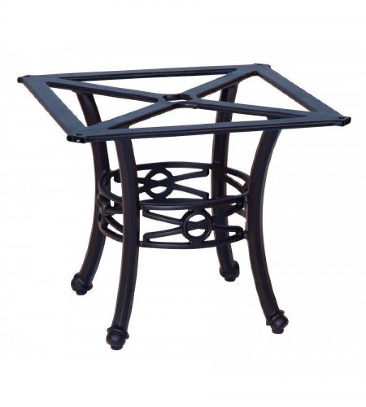 delphi coffee table base square