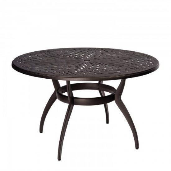 Apollo Round Umbrella Dining Table