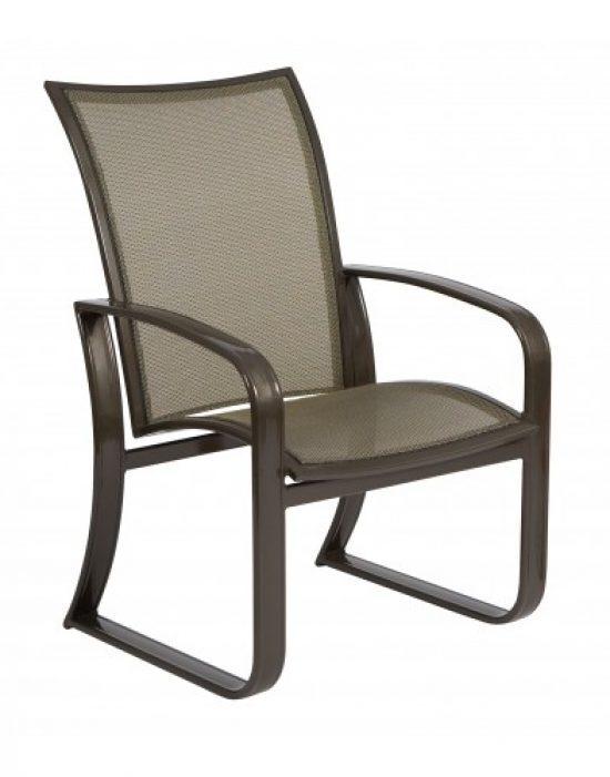 Cayman Isle Flex Dining Arm Chair