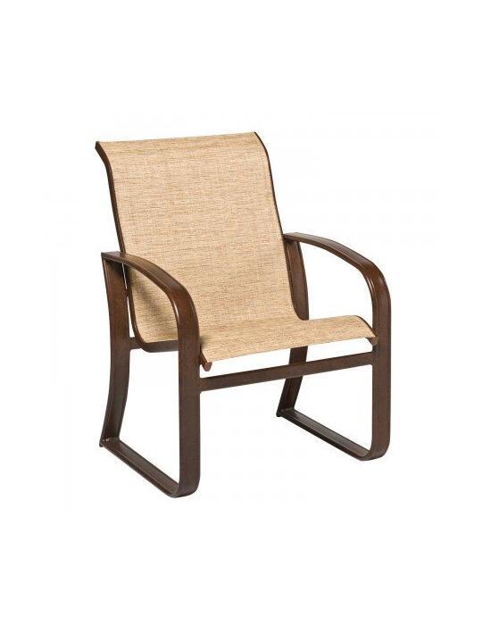 Cayman Isle Sling Dining Arm Chair