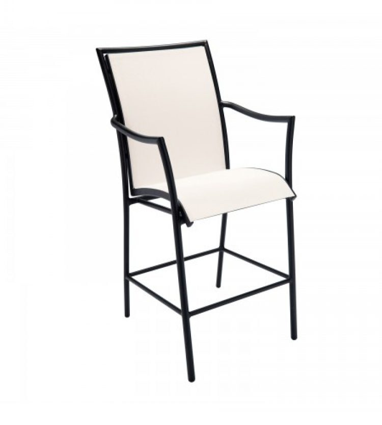 dominica sling stationary bar stool