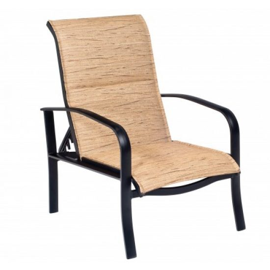 Fremont Padded Sling Adjustable Lounge Chair