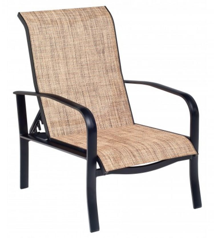 fremont sling adjustable lounge chair