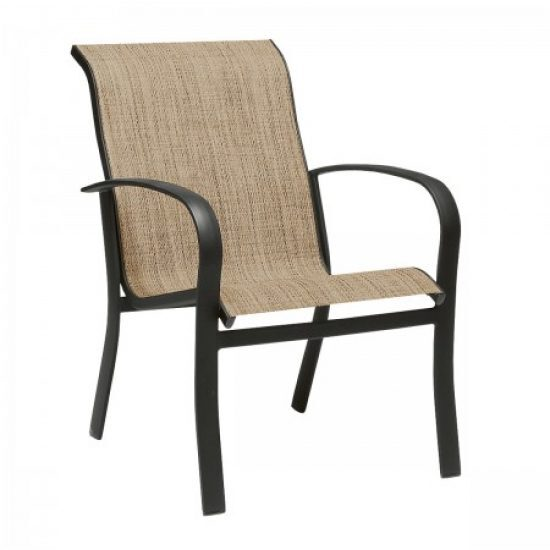 Fremont Sling Dining Arm Chair - Stackable