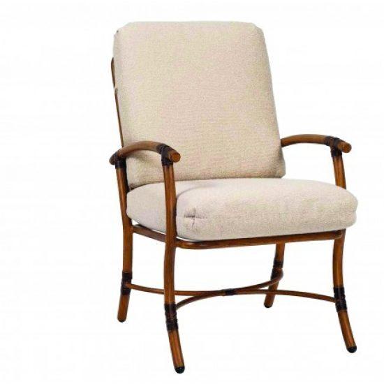 Glade Isle Cushion Dining Arm Chair