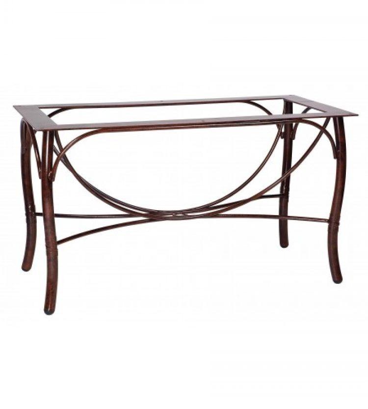 glade isle large dining table base