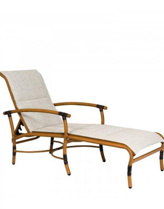 Glade Isle Sling Adjustable Chaise Lounge