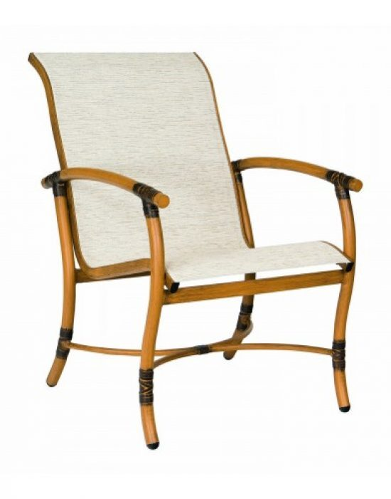 Glade Isle Sling Dining Arm Chair