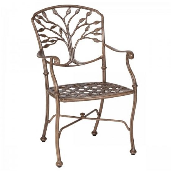 Heritage Dining Arm Chair - Without Cushion
