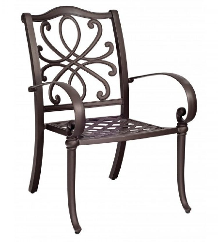 holland dining arm chair stackable