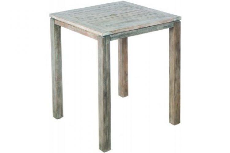 malvern 36 square wood bar table w umb hole