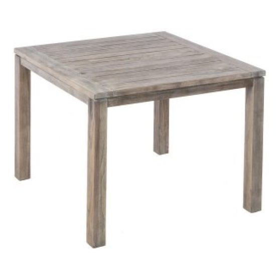 """MALVERN 40"""" SQUARE WOOD DINING TABLE W/ UMB. HOLE (WAS 46-1260)"""