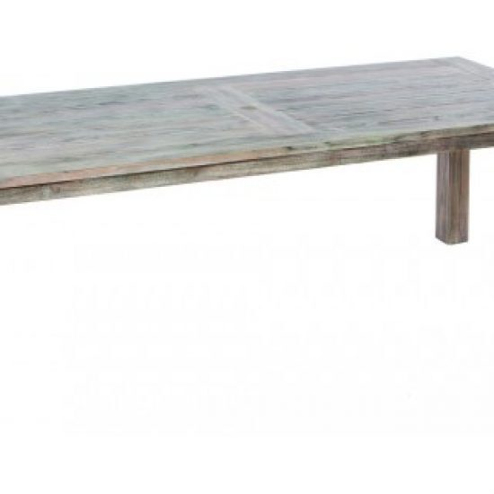 """MALVERN 94.5"""" RECT. WOOD DINING TABLE W/ UMB. HOLE (WAS 46-1264)"""