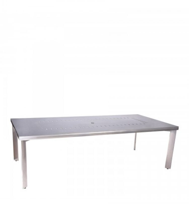 metropolis rectangular umbrella table