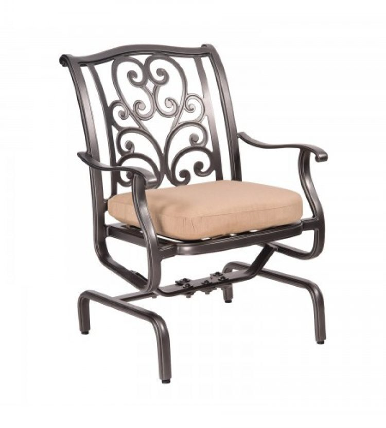 new orleans spring rocker dining arm chair