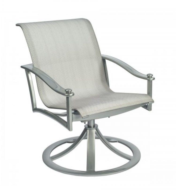 nob hill sling swivel rocking dining arm chair