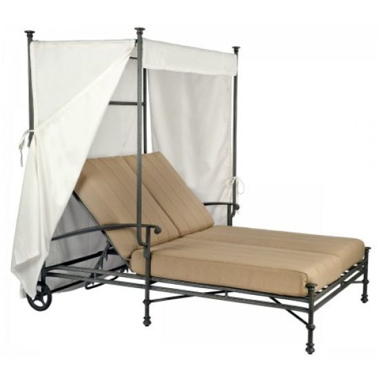 Nova Double Chaise With Canopy