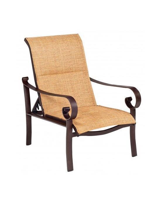 Belden Padded Sling Adjustable Lounge Chair