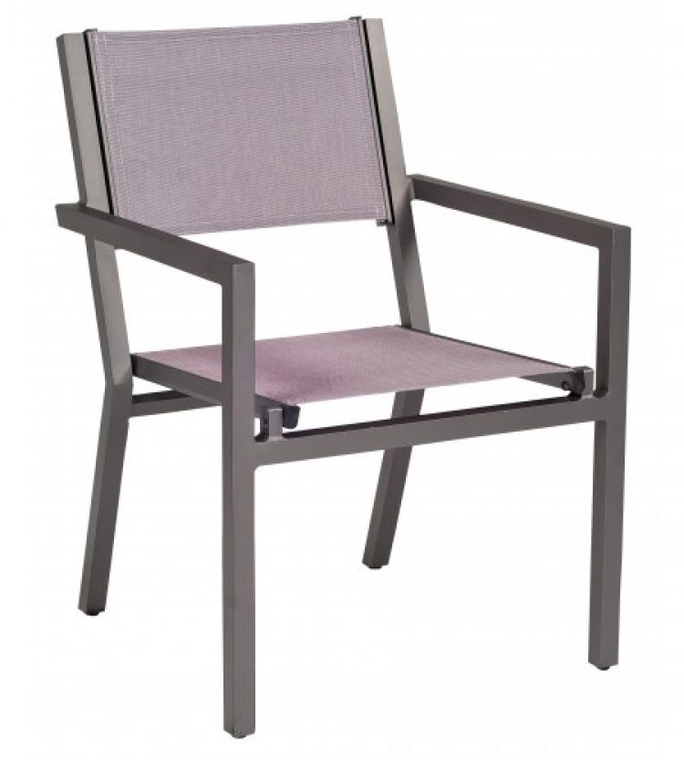 palm coast dining arm chair stacking