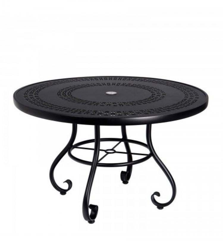 ramsgate 48 round umbrella table trellis