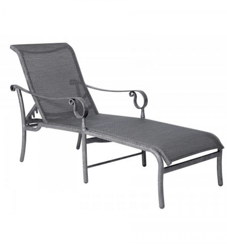 ridgecrest sling adjustable chaise lounge
