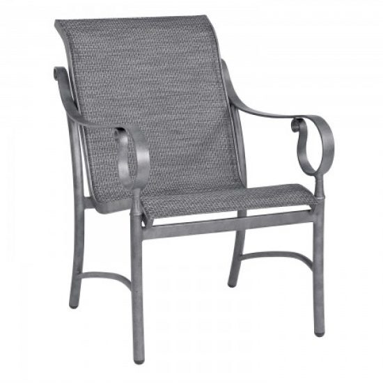 Ridgecrest Sling Dining Arm Chair