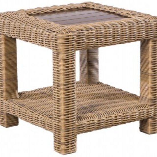 """SORRENTO 24"""" SQUARE SIDE TABLE"""