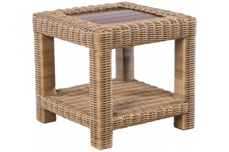 sorrento 24 square side table
