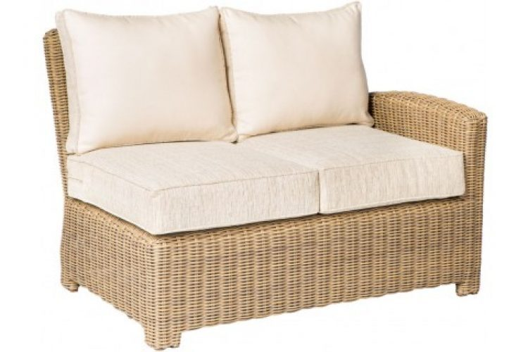 sorrento sectional left arm deep seating love seat