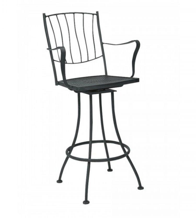 aurora swivel bar stool
