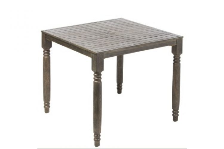 avignon 36 square french dining table
