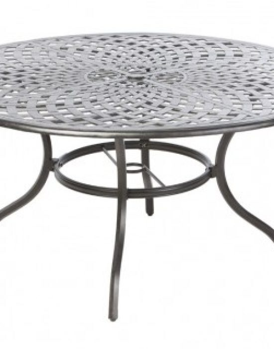 """BAY LEAF 60"""" ROUND DINING TABLE W/ UMB. HOLE"""