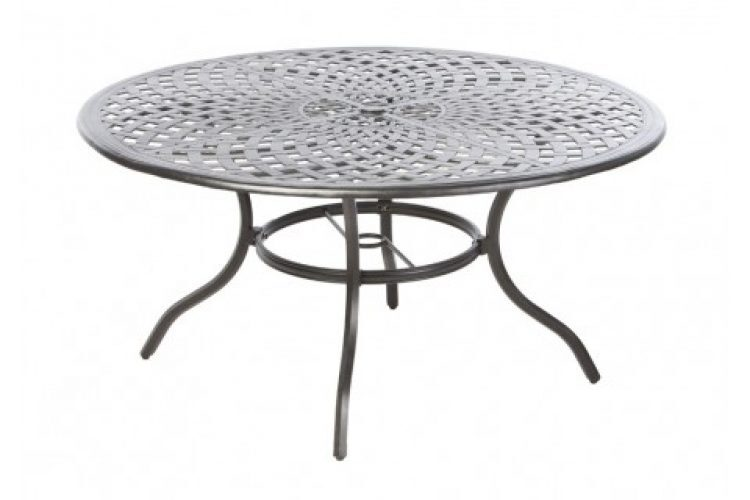 bay leaf 60 round dining table w umb hole