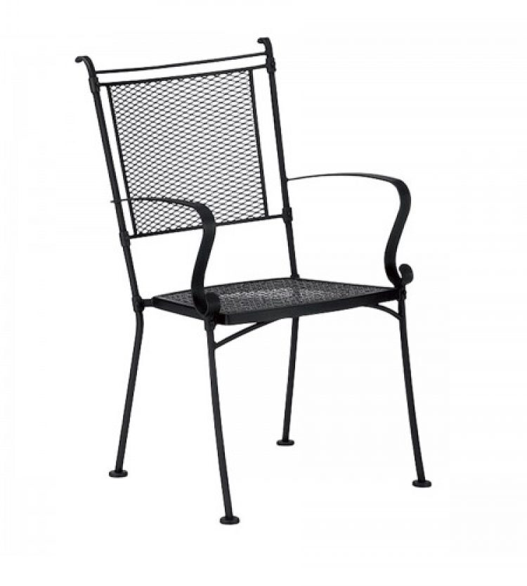 bradford dining arm chair stackable