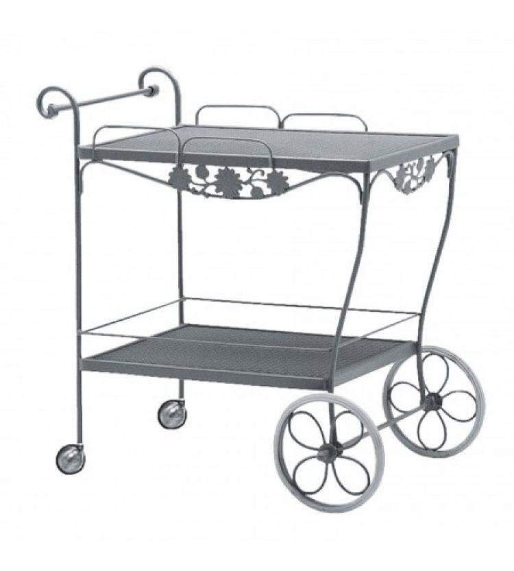 briarwood tea cart mesh top