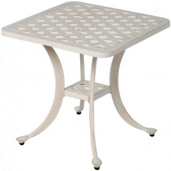 """CHATEAU 21"""" SQUARE SIDE TABLE"""
