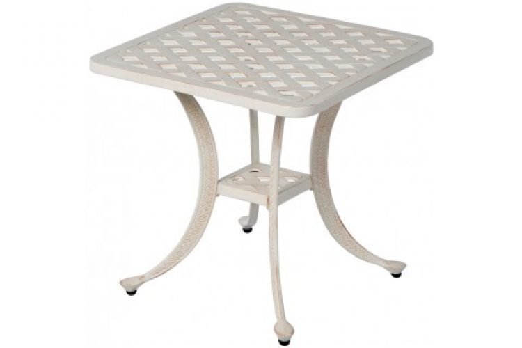 chateau 21 square side table