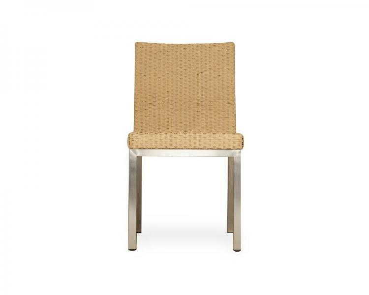 elements armless dining chair 203307