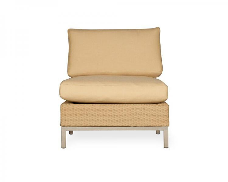 elements armless lounge chair 203353