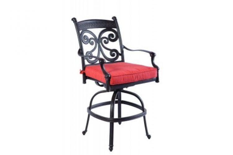 farfall gathering swivel arm chair