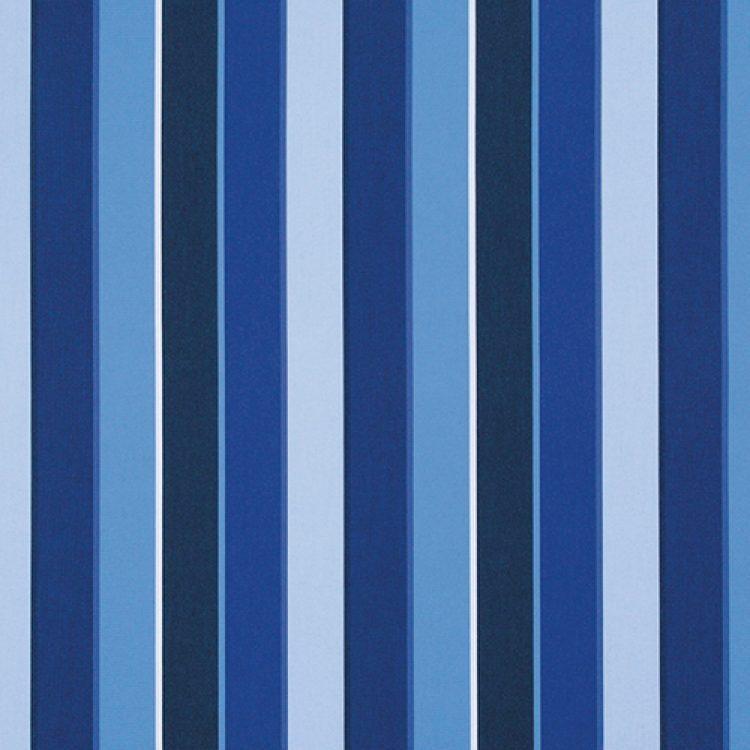 grade b stripe Milano Cobalt