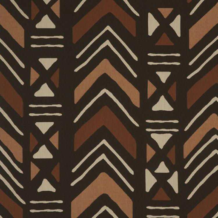 grade c pattern Mudcloth Terracotta