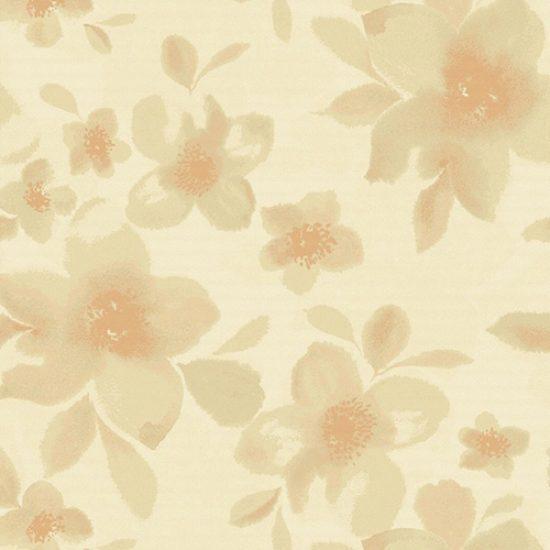 Watercolor Blossom Cameo