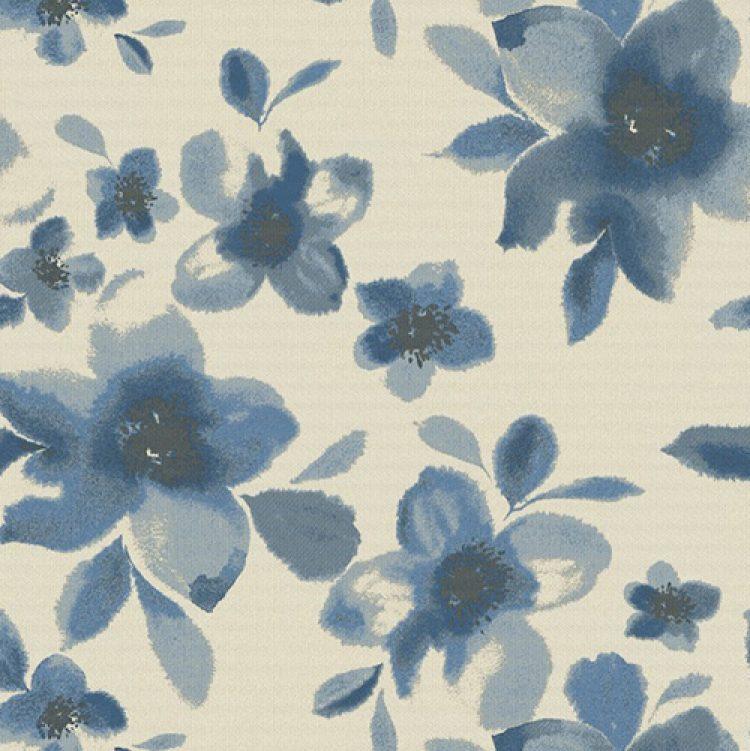 grade d pattern Watercolor Blossom Capri