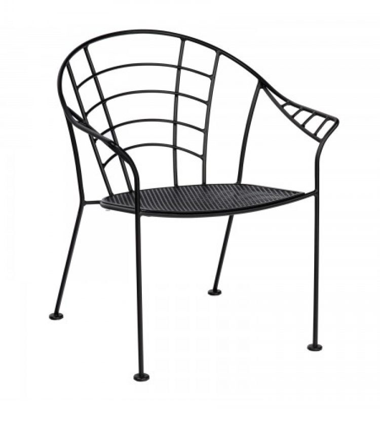 hamilton dining arm chair stackable