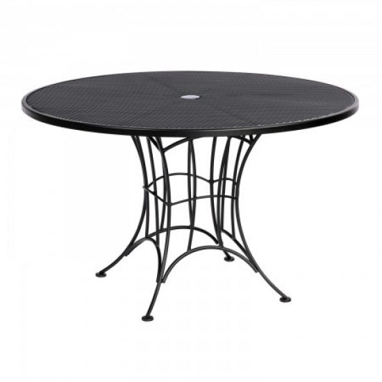 Hamilton Round Umbrella Dining Table