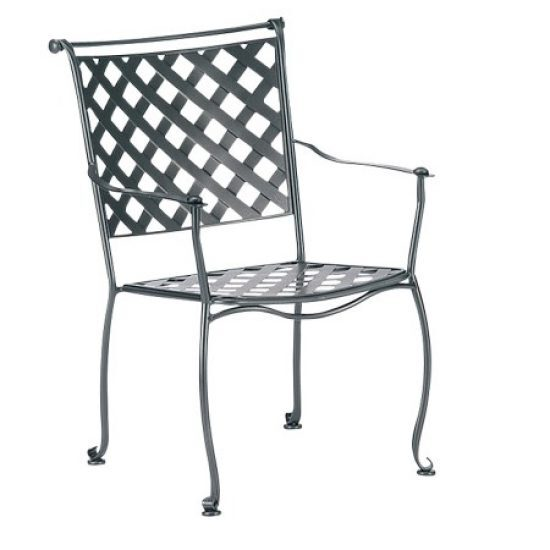 Maddox Dining Arm Chair - Stackable