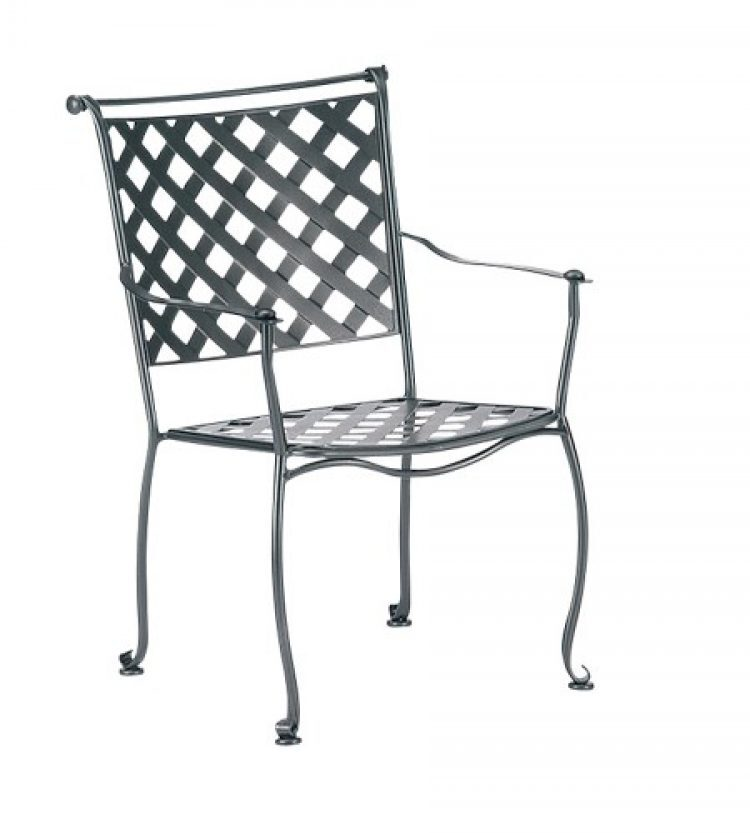 maddox dining arm chair stackable