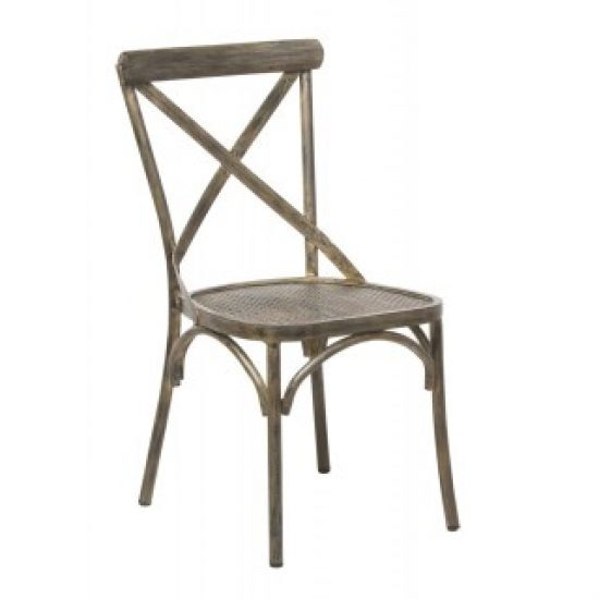 MAISON FRENCH BISTRO CHAIR, CUSHION INCLUSIVE